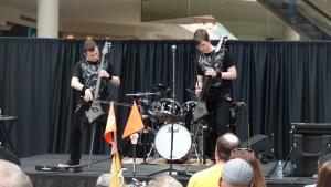 America's Got Talent Stars Emil and Dariel Rock Cellos at Savannah Mall