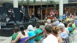 America's Got Talent Stars Emil and Dariel Rock Cellos Playing at Savannah Mall