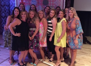 (LEFT TO RIGHT) BACK ROW: Robyn Shirley, Ashley Lindler, Kim Eubanks, Bridget Benton, Jessica Diciccio and Stacey Gutterman. FRONT ROW: Lisa Elliott, Cheryl VanderWeile, Jennifer Royster, Rachel Schmitt, Jamie Bjorlund and Jen Keilman